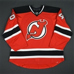 Blandisi, Joseph<br>Red Set 3<br>New Jersey Devils 2015-16<br>#64 Size: 56