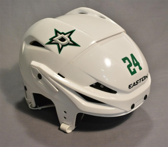 Benn, Jordie<br>White, Easton Helmet<br>Dallas Stars 2014-15<br>#24