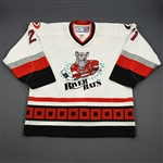 Stewart, Chris * <br>White<br>Albany River Rats 2006-07<br>#21 Size: 54