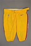 Bowen, Stephen<br>Yellow Pants<br>Washington Redskins 2014<br>#72 Size: 44