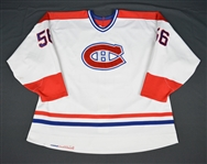 Fraser, Scott * <br>White<br>Montreal Canadiens 1995-96<br>#56 Size: 56