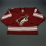 LeNeveu, David * <br>Red - Regular Season and Training Camp<br>Phoenix Coyotes 2005-07<br>#30 Size: 58G