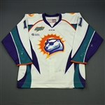 Everson, Marshall<br>White Set 1<br>Orlando Solar Bears 2014-15<br>#11 Size: 54