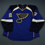Pietrangelo, Alex * <br>Blue - Set 2<br>St. Louis Blues 2010-11<br>#27 Size: 58
