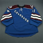 Anderson, Craig<br>Third Set 1<br>Colorado Avalanche 2010-11<br>#55 Size: 58G