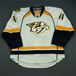 Beck, Taylor<br>White Set 1<br>Nashville Predators 2014-15<br>#41 Size: 56