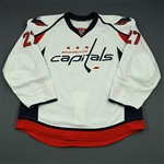 Alzner, Karl<br>White Set 2<br>Washington Capitals 2013-14<br>#27 Size: 56