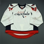 Anderson, Brandon<br>White Set 1 - Game-Issued (GI)<br>Washington Capitals 2013-14<br>#78 Size: 58G