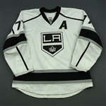 Carter, Jeff<br>White Set 1 w/A<br>Los Angeles Kings 2014-15<br>#77 Size: 56