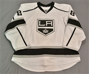 Doughty, Drew<br>White Set 2<br>Los Angeles Kings 2014-15<br>#8 Size: 56