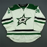 Benn, Jordie<br>White Set 1<br>Dallas Stars 2014-15<br>#24 Size: 58