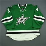 Benn, Jordie<br>Green Set 3<br>Dallas Stars 2014-15<br>#24 Size: 58