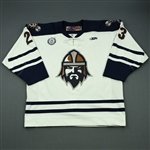 McArdle, Kenndal<br>White Set 1<br>Greenville Road Warriors 2012-13<br>#23 Size: 54