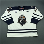 Rome, Ashton<br>White Set 1<br>Greenville Road Warriors 2012-13<br>#21 Size: 56