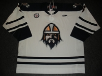 Shea, Edwin<br>White Set 1<br>Greenville Road Warriors 2012-13<br>#3 Size: 56