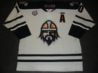 Wong, Brandon<br>White Set 1 w/A<br>Greenville Road Warriors 2012-13<br>#10 Size: 54