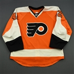 Akeson, Jason<br>Orange Set 1<br>Philadelphia Flyers 2014-15<br>#42 Size: 52
