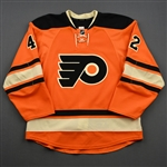 Akeson, Jason<br>Third Set 2<br>Philadelphia Flyers 2014-15<br>#42 Size: 52