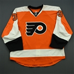 Alt, Mark<br>Orange Set 1 - Game-Issued (GI)<br>Philadelphia Flyers 2014-15<br>#39 Size: 56