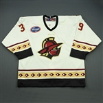 Fuller, Travis<br>White Set 1<br>Gwinnett Gladiators 2008-09<br>#39 Size: 54