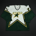 Barnes, Stu<br>White Playoffs<br>Dallas Stars 2003-04<br>#14 Size: 54