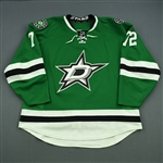 Cole, Erik<br>Green Set 2<br>Dallas Stars 2014-15<br>#72 Size: 58