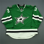 Connauton, Kevin<br>Green Set 1<br>Dallas Stars 2014-15<br>#23 Size: 58