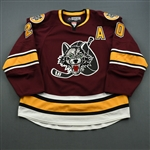 Haydar, Darren * <br>Maroon w/A - Autographed<br>Chicago Wolves 2011-12<br>#20 Size: 56