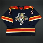 Messier, Eric<br>Blue 1st Regular Season<br>Florida Panthers 2003-04<br>#15 Size: 56