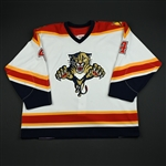 Bouwmeester, Jay<br>White 2nd Regular Season<br>Florida Panthers 2003-04<br>#4 Size: 58