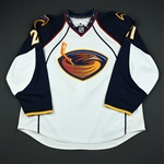 Eager, Ben<br>White Set 1<br>Atlanta Thrashers 2010-11<br>#21 Size: 58