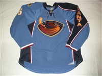 Hainsey, Ron<br>Blue Set 1<br>Atlanta Thrashers 2010-11<br>#6 Size: 58