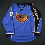 Little, Bryan<br>Blue Set 1<br>Atlanta Thrashers 2010-11<br>#10 Size: 56