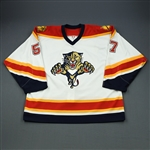 Stewart, Anthony<br>White Set 2<br>Florida Panthers 2005-06<br>#57 Size: 56