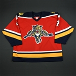 Bouwmeester, Jay<br>Third Set 2<br>Florida Panthers 2005-06<br>#4 Size: 58