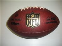 Game-Used Football<br>Game-Used Football from September 8, 2014 v. Arizona (Opening Day)<br>San Diego Chargers 2014