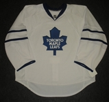 Blank - No Name or Number<br>White (RBK Edge Version 1.0) - CLEARANCE, FINAL SALE<br>Toronto Maple Leafs <br>Size: 58G
