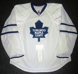 Blank - No Name or Number<br>White (RBK Edge Version 2.0) - CLEARANCE, FINAL SALE<br>Toronto Maple Leafs <br>Size: 58+