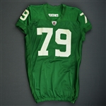 Herremans, Todd * <br>1960 Kelly Green Throwback Jersey<br>Philadelphia Eagles 2010<br>#79 Size: 48-O