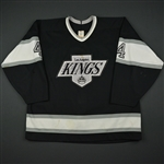 Blake, Rob * <br>Black - Autographed<br>Los Angeles Kings 1990-91<br>#4 Size:54