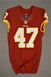Davis, Akeem<br>Burgundy Regular Season<br>Washington Redskins 2014<br>#47 Size: 44 L-BK