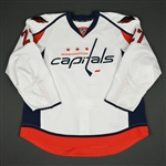 Alzner, Karl<br>White Set 1<br>Washington Capitals 2016-17<br>#27 Size: 58