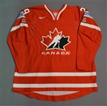 MacKinnon, Nathan * <br>Red - 2014 IIHF Mens World Championship<br>Team Canada 2014<br>#29 Size: 60