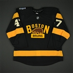 Krug, Torey * <br>Black - Winter Classic  (Period 2)<br>Boston Bruins 2015-16<br>#47 Size: 56