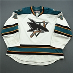 Doherty, Taylor * <br>White<br>Worcester Sharks 2014-15<br>#4 Size: 58+
