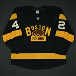 Backes, David<br>Third Set 1<br>Boston Bruins 2016-17<br>#42 Size: 56