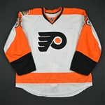 Bunnaman, Connor<br>White Set 1 w/ 50th Anniversary & Ed Snider Patches - Preseason Only<br>Philadelphia Flyers 2016-17<br>#82 Size: 56
