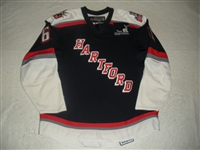 Lee, Mark<br>Navy Set 2<br>Hartford Wolf Pack 2007-08<br>#61 Size: 54