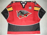 Lindstrom, Mattias<br>Red Set 1<br>Cincinnati Cyclones 2012-13<br>#28 Size: 56