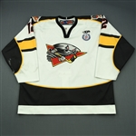 MacDonald, David<br>White Set 1<br>Cincinnati Cyclones 2012-13<br>#12 Size: 56
